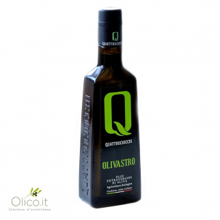 "Extra Virgin Olive Oil ""Olivastro"" 100% Itrana Organic Quattrociocchi"