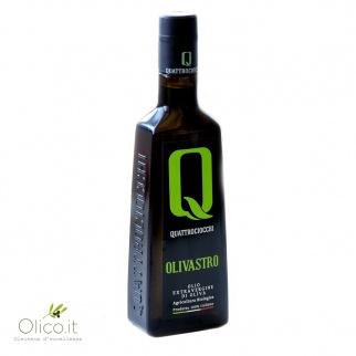 Olio Extra Vergine di Oliva Olivastro 100% Itrana Biologico Quattrociocchi
