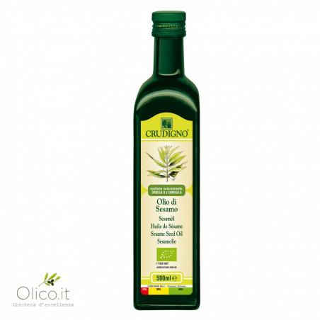 Aceite de Sésamo Biológico 500 ml