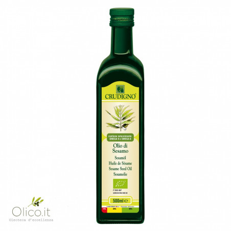 Organic Sesame Seed Oil 500 ml