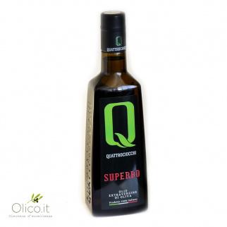 Olio Extra Vergine di Oliva Superbo 100% Moraiolo Quattrociocchi