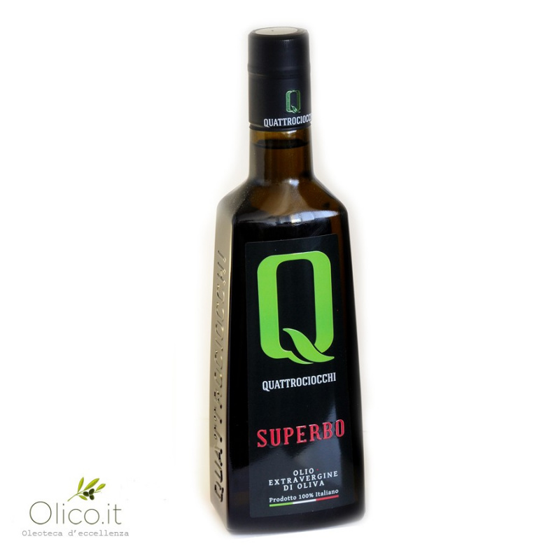 Extra Virgin Olive Oil Superbo 100% Moraiolo Quattrociocchi