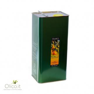 Extra Virgin Olive Oil Fiore del Frantoio Franci 5 lt