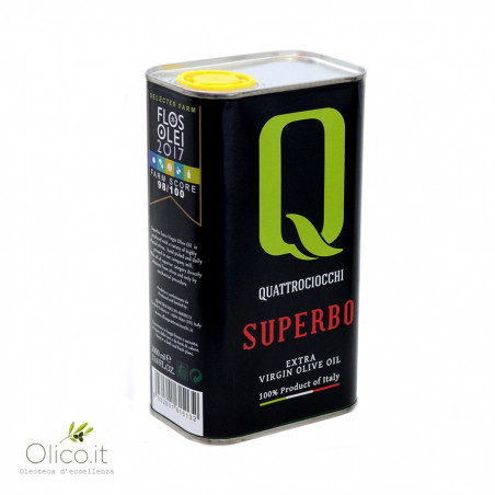 Huile Extra Vierge d'Olive Superbo 1 lt