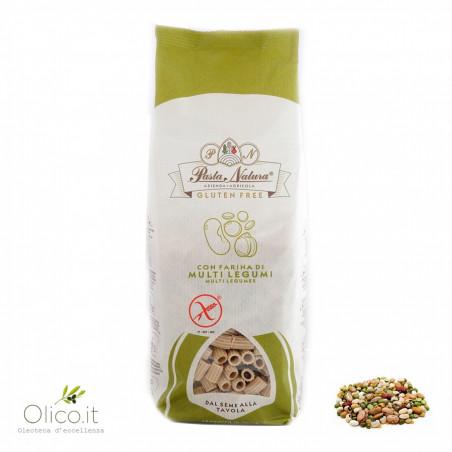 Ditali Gluten Free Pasta with Multilegumes flour