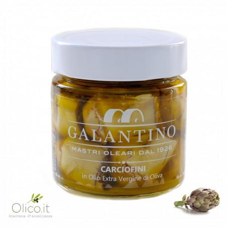 Artichauts à l'Huile d'Olive Extra Vierge 230 gr