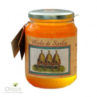 Süßkleehonig- Sizilianische Schwarzbiene 1 kg