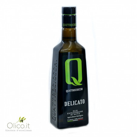 Aceite de oliva virgen extra orgánico delicado  500 ml