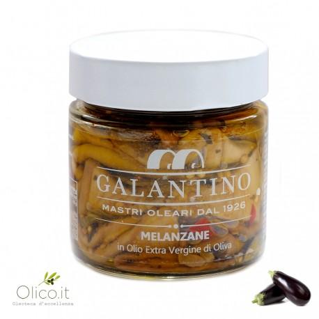 Aubergines à l'Huile Extra Vierge d'Olive