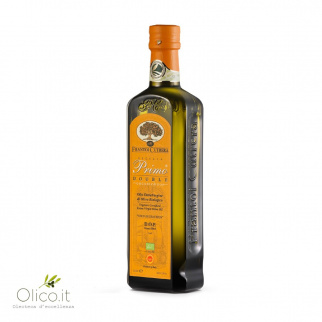 Huile d'Olive Extra Vierge Primo Double Bio & AOP Cutrera 500 ml