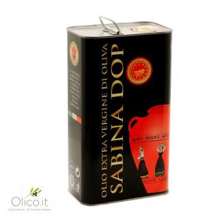 Huile d'Olive Extra Vierge AOP Sabina 3 lt