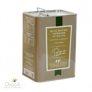 Huile d'Olive Extra Vierge Fruitée Moyenne 3 lt