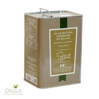 Olio Extra Vergine di Oliva Fruttato Medio 3 lt