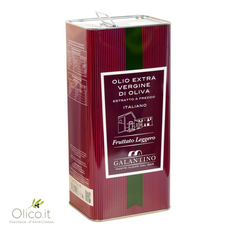 Huile d'Olive Extra Vierge Délicate Puglia Galantino