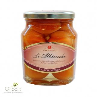 Abricots entières au sirop 600 gr