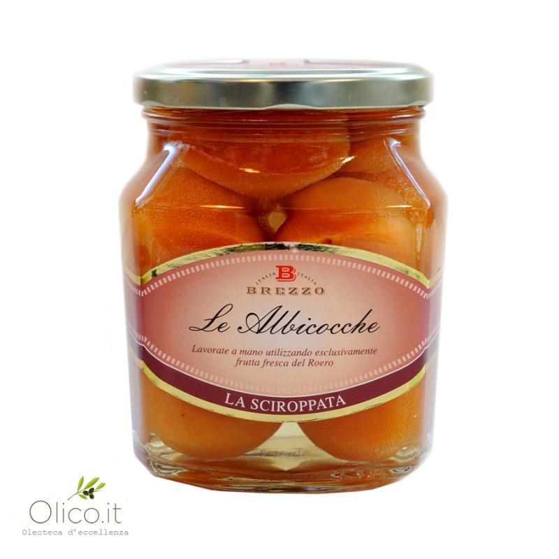 Abricots entières au sirop