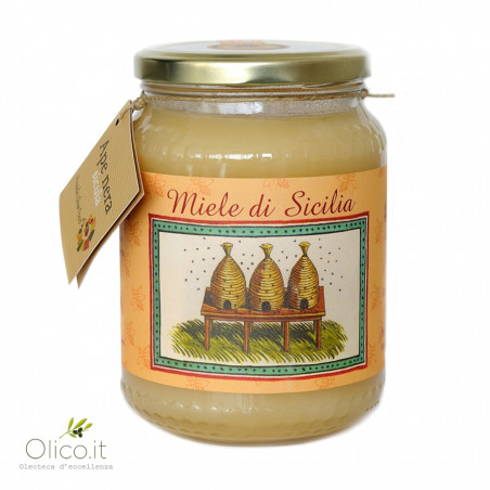 Miel d'Oranger de Ribera Abeille Noire Sicilienne 1 kg