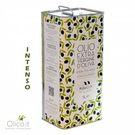 Intense Monocultivar Coratina Extra Virgin Olive Oil 5 lt