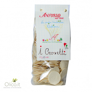 Croxetti Traditional Pasta from Liguria 500 gr