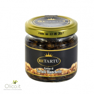Gesneden Bianchetto Truffel in Zonnebloemolie 50 gr