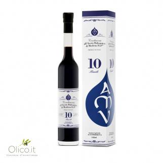 10 Bariles - Condimento con Vinagre Balsámico de Modena IGP 100 ml