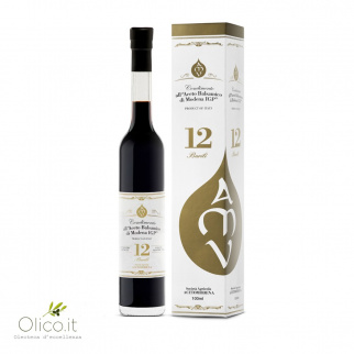 12 Barili - Condiment au Vinaigre Balsamique de Modena IGP 100 ml