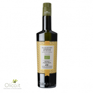Olio Extra Vergine di Oliva Fruttato Medio Biologico 500 ml