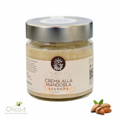 Crunchy Almond Cream