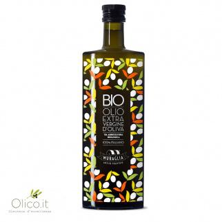 Huile d'Olive Extra Vierge Essenza Biologique Muraglia 500 ml