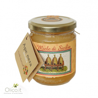 Lemon Honey Sicilian Black Bee 250 gr