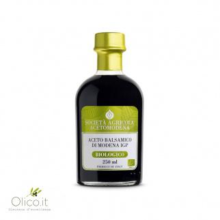 Biologische Balsamico Azijn uit Modena IGP Acetomodena 250 ml