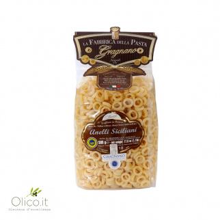 Anelli Siciliani Pasta uit Gragnano IGP 500 gr