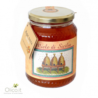 Late Eucalyptus Honey - Sicilian Black Bee 1 kg
