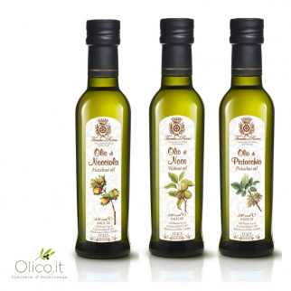 Three-of-a-kind Special Oils Walnut Hazelnut Pistachio 250 ml x 3