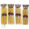 Set Pâtes Longues de Gragnano IGP - Bucatini, Linguine, Spaghetti, Ziti