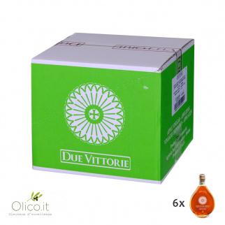 Vinagre de Manzana Due Vittorie Añejo en barrica 500 ml x 6