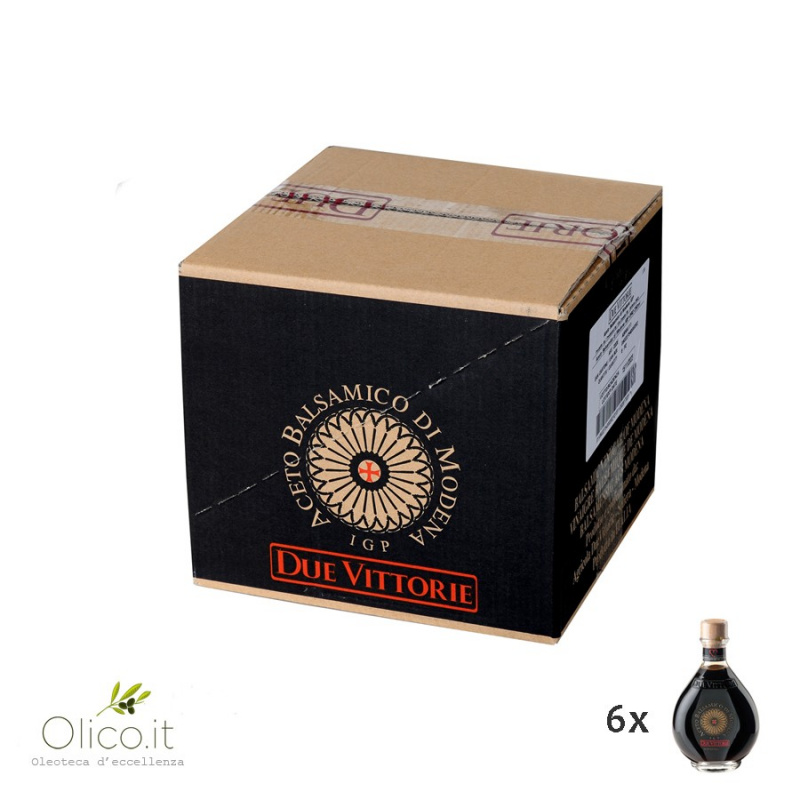 Aceto Balsamico di Modena IGP Oro Due Vittorie 6 x 250 ml