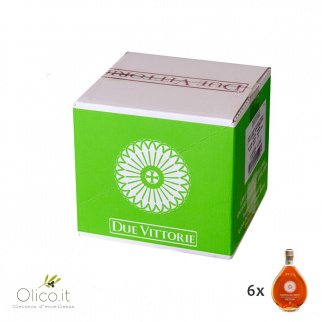 Vinagre de Manzana Due Vittorie Añejo en barrica 250 ml x 6