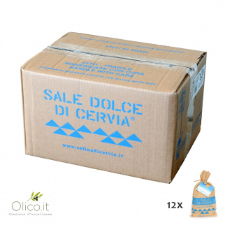 Sweet salt of Cervia 1 kg x 12