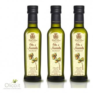 Tris olio di Nocciola