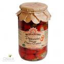 Piments cerises farcis aux anchois et câpres