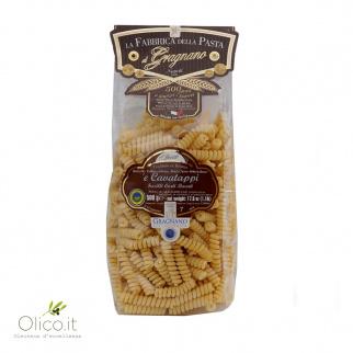 'e Cavatappi - Pâtes de Gragnano IGP 500 gr