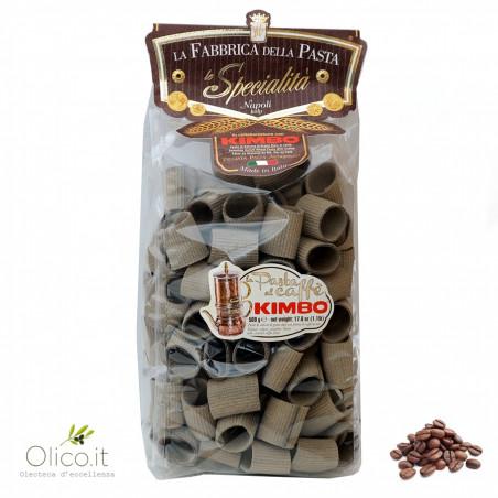 Kimbo Coffee Pasta - Paccheri rigati