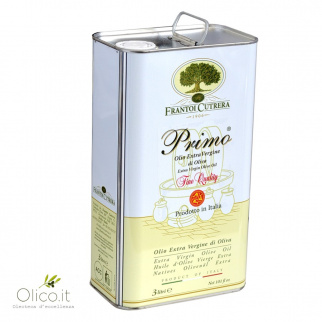 Huile d'Olive Extra Vierge Primo Fine Quality Cutrera 3 lt