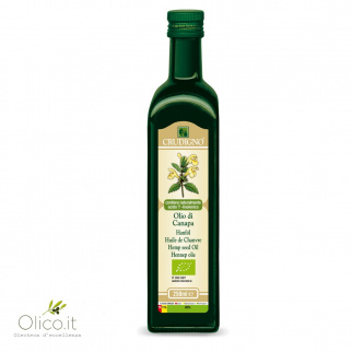 Olio di Canapa Sativa Biologico 250 ml