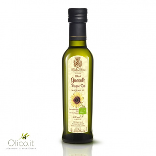 Organic Virgin Sunflower Oil 250 ml