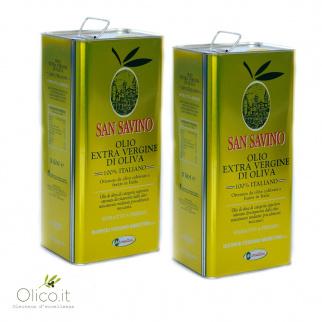Extra Virgin Olive Oil San Savino 5 lt x 2