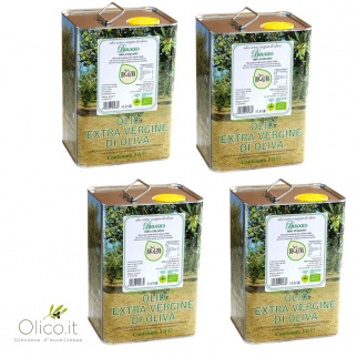 "Organic Extra Virgin Olive Oil ""Bioliva"" Morettini"
