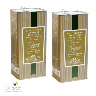 Extra Virgin Olive Oil  Medium Fruity 5 lt x 2