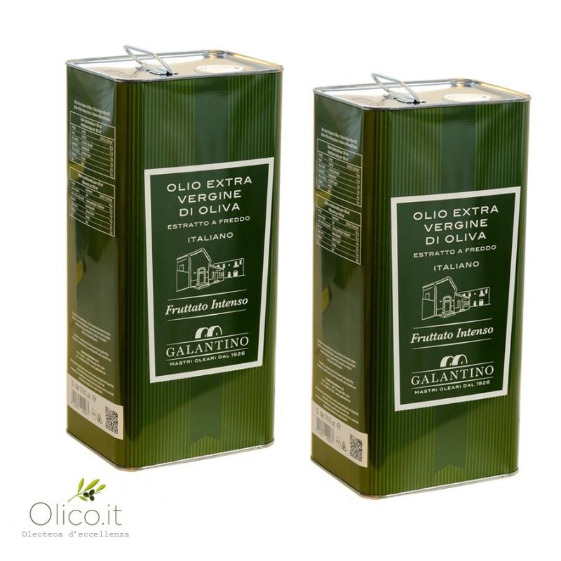 Huile Extra Vierge d'Olive Intense Puglia Galantino